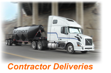 Extendit truck2 Contractor Deliveries